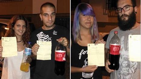 Spaniens absurdes Knebelgesetz schlägt erneut zu: 300 Euro Strafe für Cola-Trinken in der Öffentlichkeit