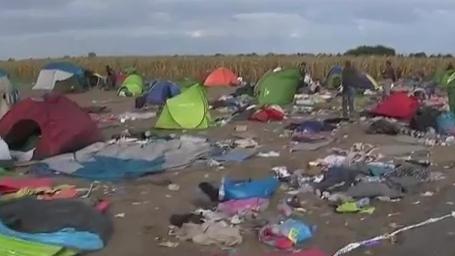 Flüchtlingskrise aktuell: Anwachsende Müllberge lassen Stimmung in Transitländern kippen