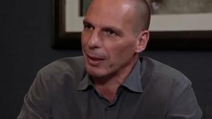 Yanis Varoufakis. Quelle: RT Going Underground