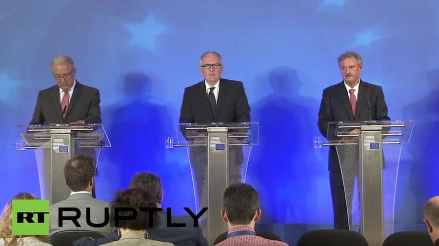 Live: Pressekonferenz nach EU-Justiz- und Innenministertreffen zur EU-Flüchtlingspolitik