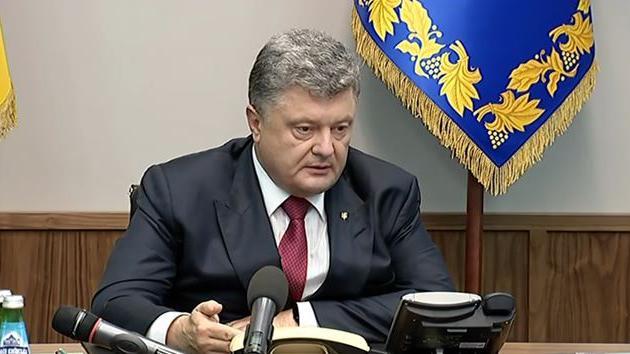 Korruptionsvorwürfe gegen Poroschenko verdichten sich - Enge Vertraute Mitglieder eines Geldwäschekartells