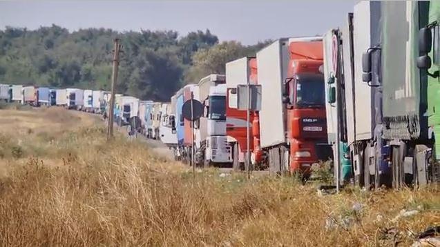 Blockade der Krim für ukrainische Lebensmittel und kein Ende in Sicht