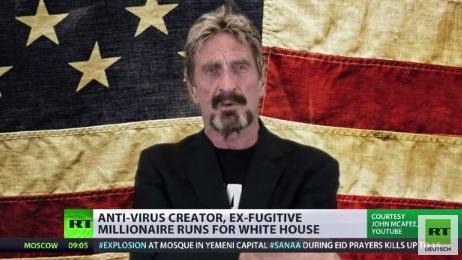 McAfee for President- Ein Computermagier im Weißen Haus?
