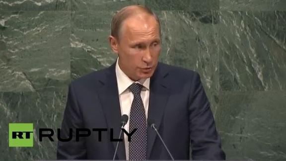 Live: Putin spricht bei UN-Vollversammlung in New York