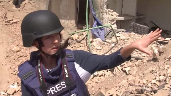Syrien: RT-Reporterin Lizzie Phelan gerät unter Scharfschützen-Feuer in Zabadani
