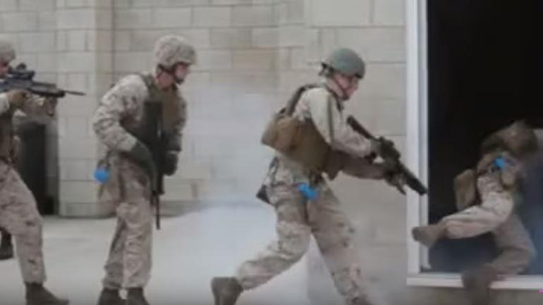 Einnahme von Moskau muss verschoben werden - US-Marines trainieren Häuserkampf und versagen kläglich