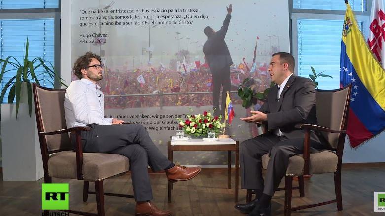 """RT-Interview mit Vize-Außenminister Venezuelas: """"Massive Desinformationskampagne gegen unser Land"""""""