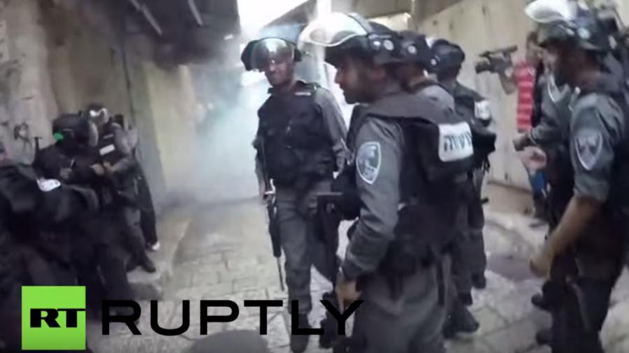 Jerusalem: Zusammenstöße an Al-Aqsa-Moschee - Blendgranaten, Tränengas und Verhaftungen