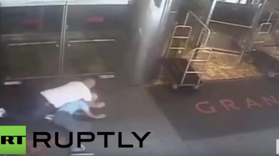 New York: Video zeigt versehentliche brutale Verhaftung von Ex-Tennisstar Blake