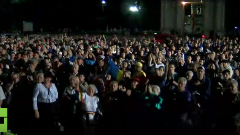 Live aus Moldawien: Anti-Regierungs-Protest geht weiter