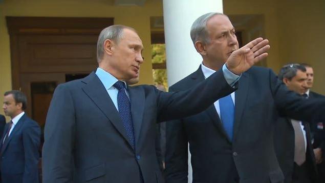 Syrienkrieg: Israel und Russland vereinbaren Koordination um Zusammenstöße zu vermeiden