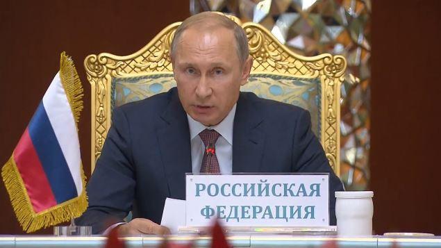 """Putin ruft Westen zu gemeinsamer Anstrengung gegen """"Islamischen Staat"""" auf"""