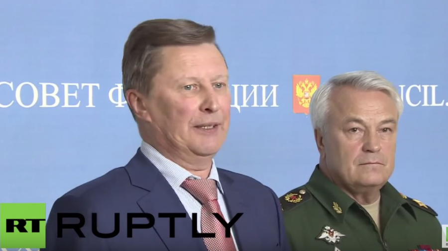 Russland: Sergej Iwanow zum Luftwaffeneinsatz in Syrien: Assad hat uns um Hilfe gebeten