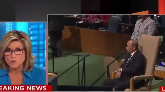 Ups – CNN-Politik-Kommentatorin verwechselt bei Bericht über UN-Vollversammlung Putin mit Boris Jelzin