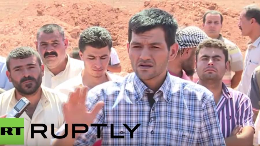 Vater des ertrunkenen Aylan Kurdi begleitet seine Familie auf ihrer letzten Reise