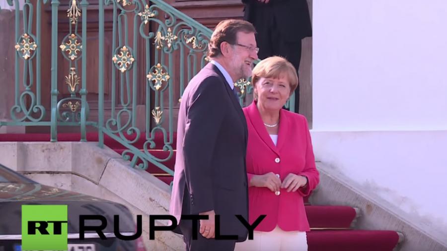 Live: Merkel und Spaniens Ministerpräsident Rajoy geben gemeinsame Pressekonferenz