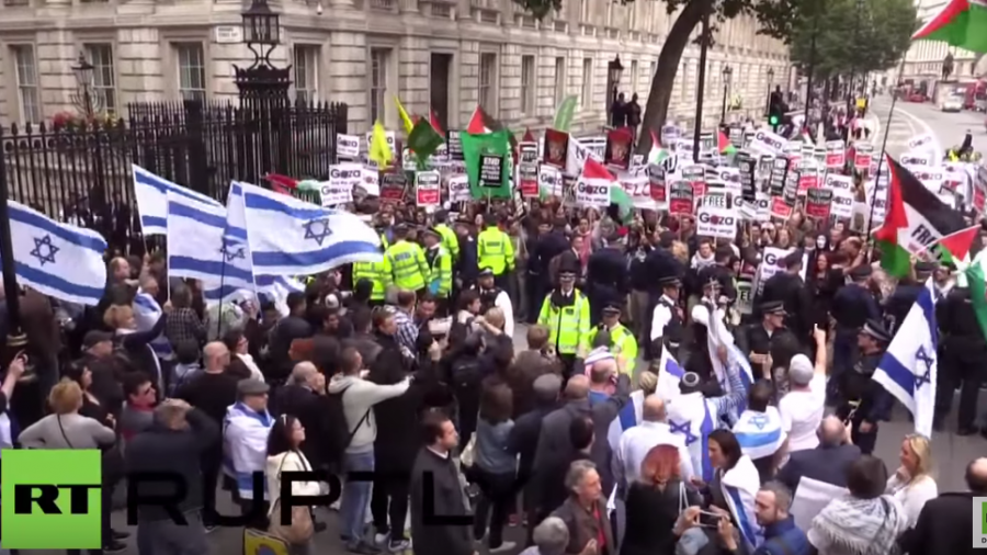 London: Zusammenstöße zwischen Pro- und Anti-Netanjahu-Demonstranten – fünf Menschen verhaftet