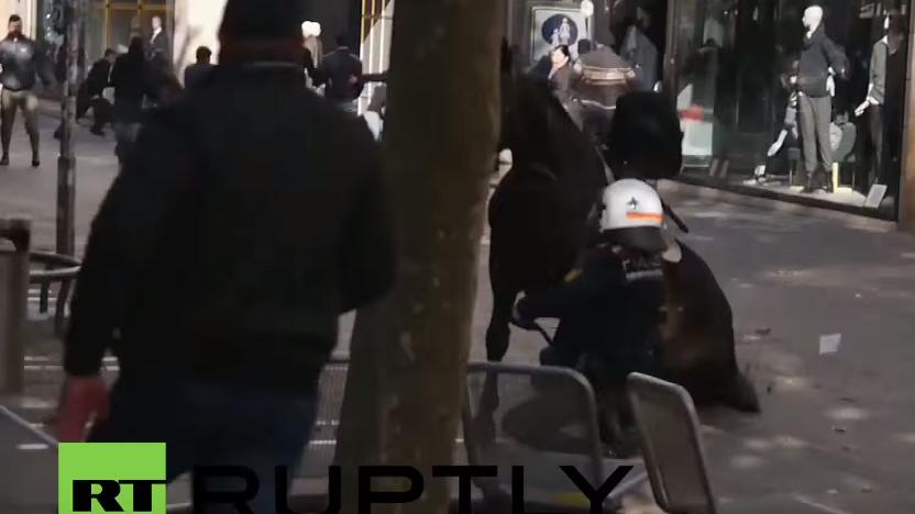 Stuttgart: Erneute Konfrontationen zwischen Kurden, Türken und der Polizei