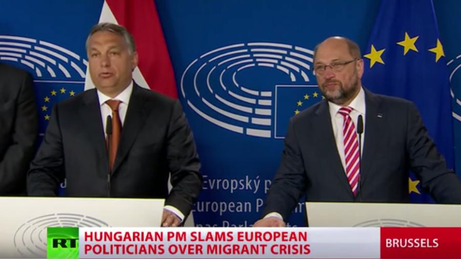 """Viktor Orbán: """"Flüchtlingskrise ist kein europäisches Problem, es ist ein deutsches Problem"""""""