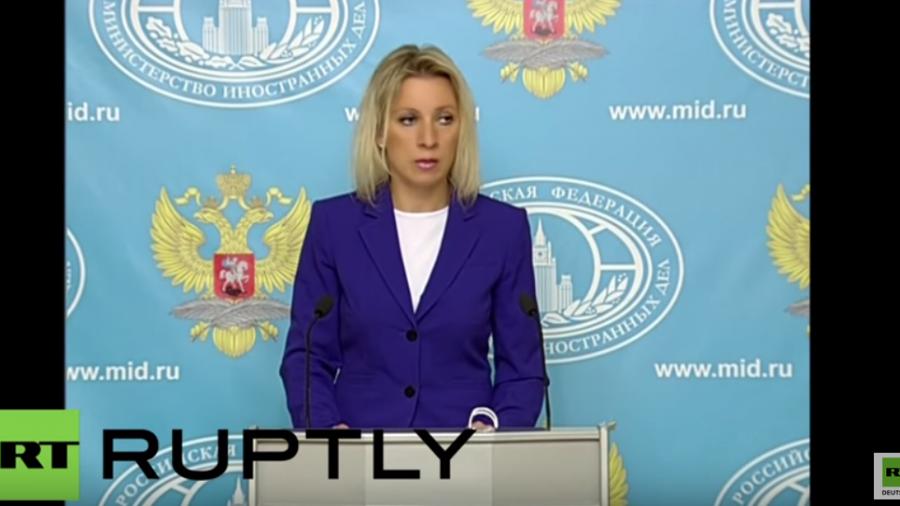 """Zakharowa: """"Die Anwesenheit von US-Militär ist eine offene Verletzung des Minsker Abkommens"""""""
