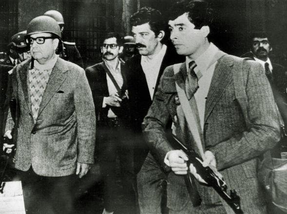 Das letzte Aufgebot von Allende gegen die Putschisten