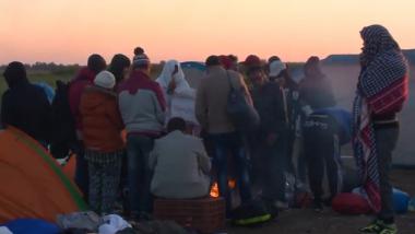 Syrische Flüchtlinge in Ungarn - Archivbild