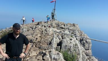 Gastautor Gert Ewen-Ungar auf der Krim