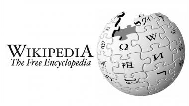 Logo des Online-Lexions Wikipedia