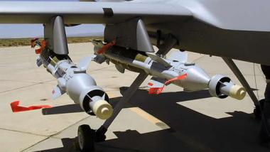 Über die gezielten Tötungen via den todbringenden Rapper-Drohnen-Raketen entschieden auch Bundeswehr-Offiziere - Quelle: US Airforce