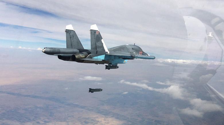 russische Sukhoi Su-34 - Quelle: Russisches Verteidigungsministerium