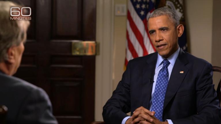 Obama im Interview: War von Anfang an 'skeptisch' ob der Zeit- und Geldverschwendung mit syrischen Rebellen