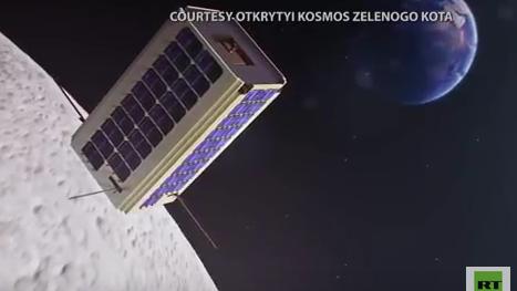 Russische Aktivisten wollen mit eigener Satelliten-Mission US-amerikanische Mondlandung prüfen