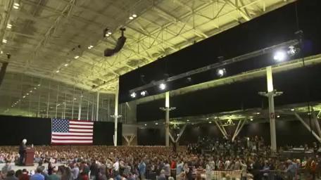 US-Präsidentschaftswahl: Trotz Medienboykott - Außenseiter Sanders stellt Wahlkampfrekord auf