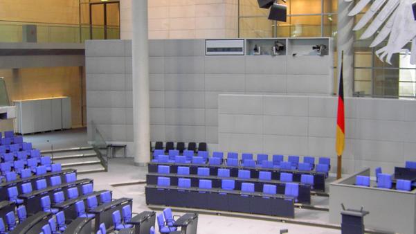 Error 404: Bundestag beschließt mit großer Mehrheit Vorratsdatenspeicherung