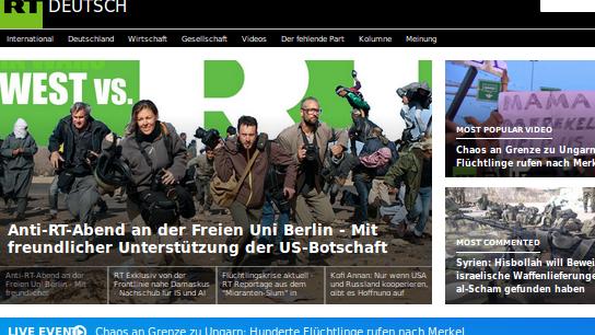 RT Deutsch präsentiert sich ab dem 29. Oktober im neuen Design