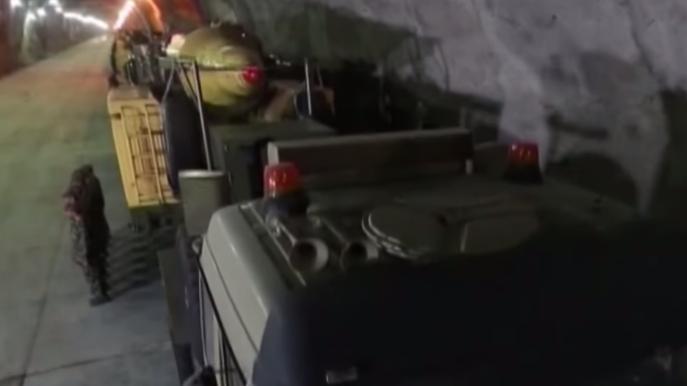 Iran: Filmmaterial von geheimer, unterirdischer Militärbasis - Nur eine von vielen?