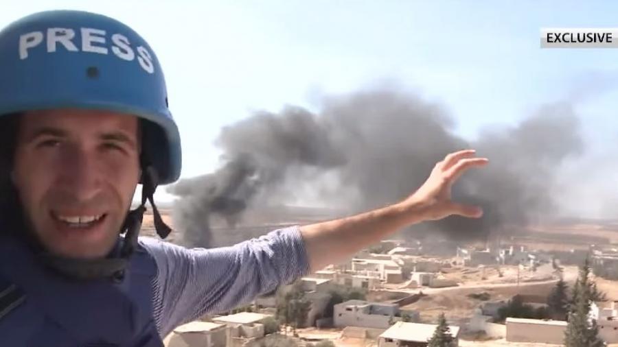 Exklusiv: RT-Reporter Gazdiev berichtet von der Frontlinie der syrischen Offensive in Hama