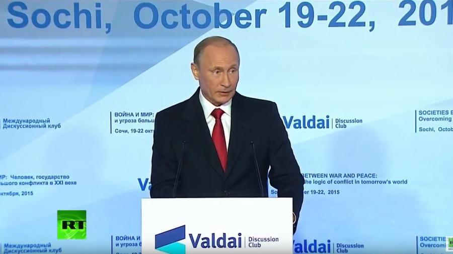 Vollständige Rede von Wladimir Putin vor dem Waldai-Club in deutscher Übersetzung