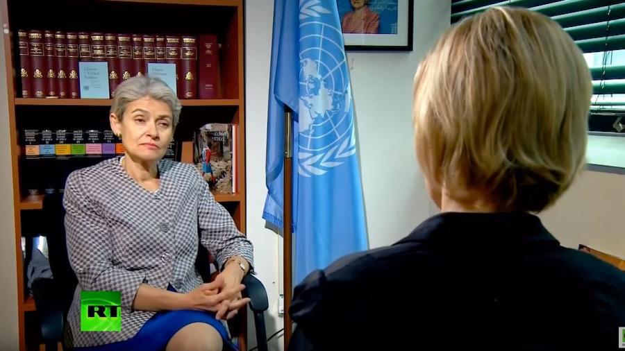 """RT-Interview mit UNESCO-Chefin: """"IS führt kulturelle Säuberung im Nahen Osten durch"""""""