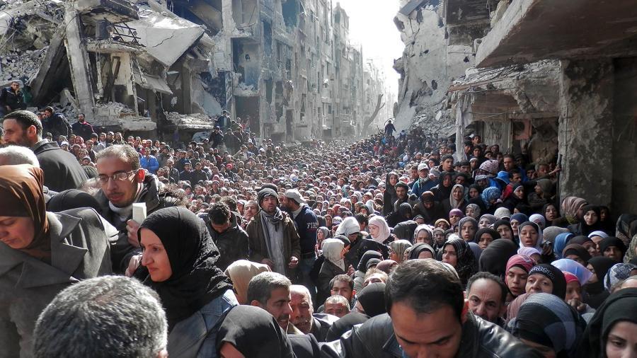 Assange: WikiLeaks vorliegende Depeschen zeigen Plan zur strategischen Entvölkerung von Syrien