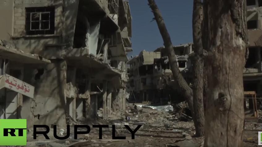 Syrisch Arabische Armee erobert hart umkämpfte Stadt Zabadani zurück