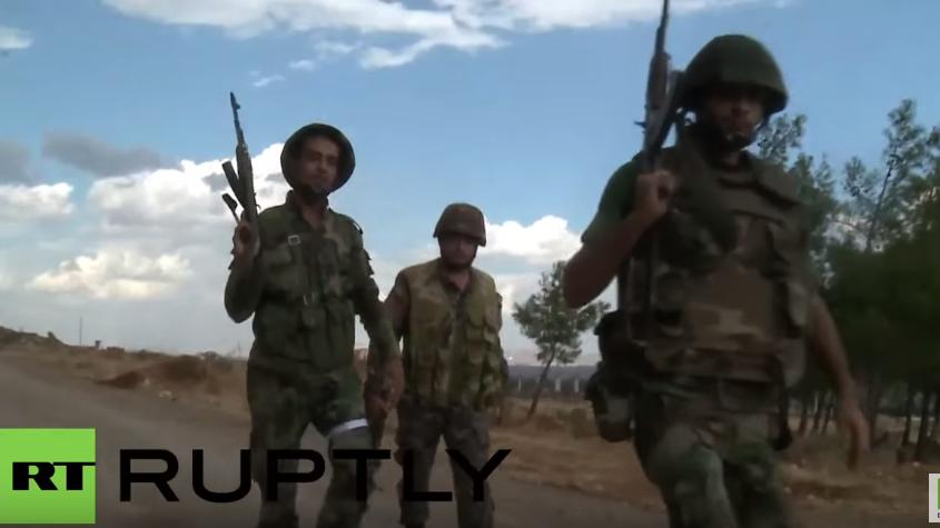 Syrische Arabische Armee erobert mit Hilfe russischer Luftwaffe al-Basha zurück