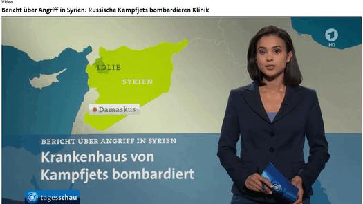 """Programmbeschwerde gegen Tagesschau wegen Falschmeldung """"Russische Kampfjets bombardieren Klinik"""""""