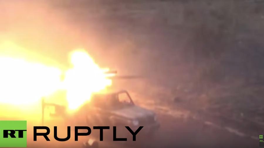 Syrische Bodentruppen starten Offensive gegen IS