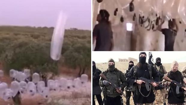 """Kein Witz: Der Islamische Staat setzt """"Kondom-Bomben"""" gegen russische Kampfflieger ein"""