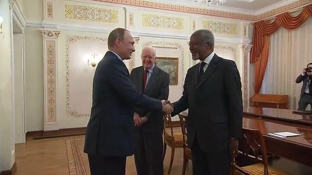 Kofi Annan: Nur wenn USA und Russland kooperieren, gibt es Hoffnung auf Frieden in Syrien