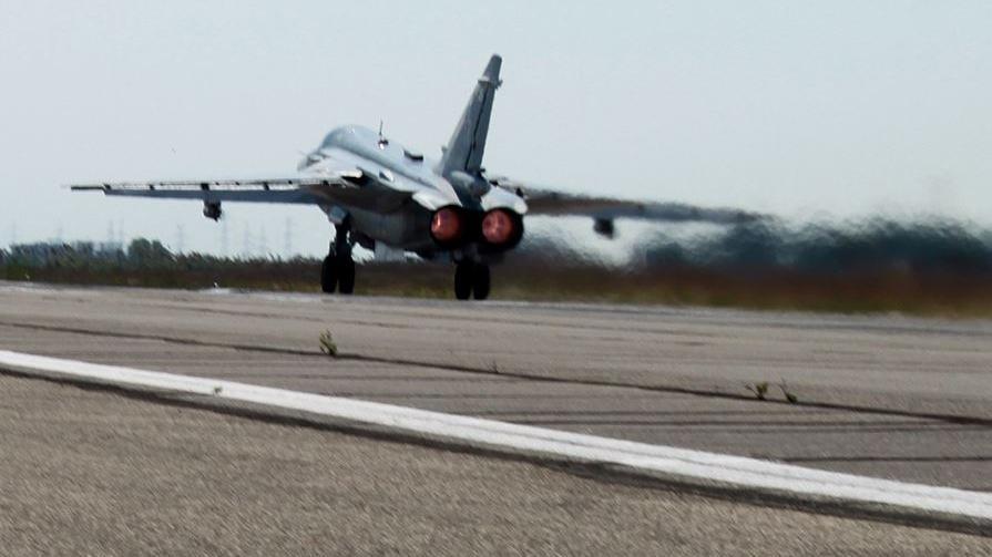 12 Luftschläge in den letzten 24 h - IS plant Provokationen gegen Russland und deponiert Kriegsgerät vor Moscheen