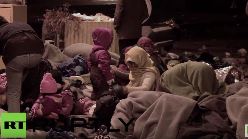 Friedensnobelpreisträger EU? Schreckliche Szenen von Flüchtlingen aus Slowenien und Kroatien