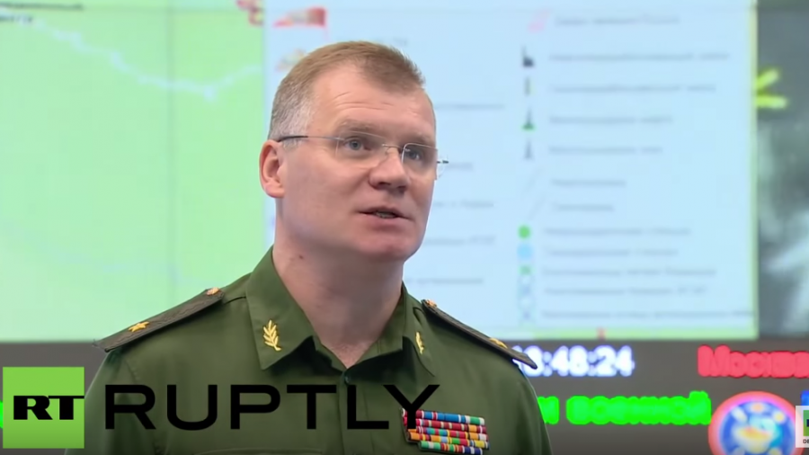 Russland gegen den IS in Syrien: Heute acht erfolgreiche Luftschläge auf fünf IS-Stellungen