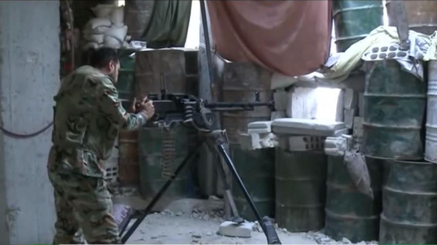 RT Exklusiv von der Frontlinie nahe Damaskus - Nachschub für IS und Al Nusra rollt noch immer